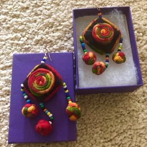 Handmade Chinese Tribal Earrings